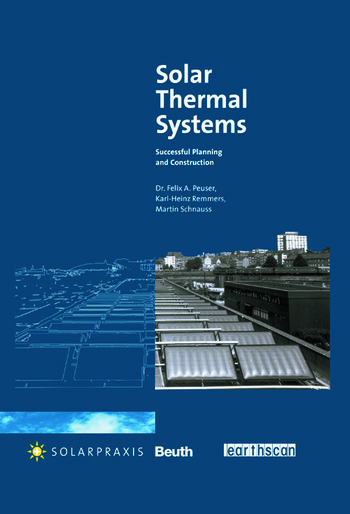 Solar Thermal Systems Successful Planning and Construction book cover