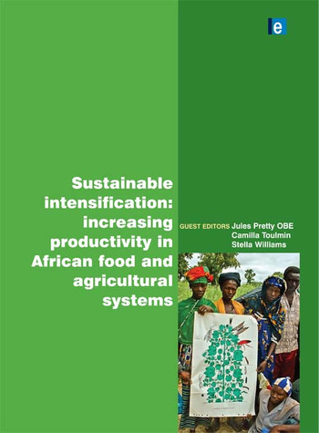 Sustainable Intensification Increasing Productivity in African Food and Agricultural Systems book cover