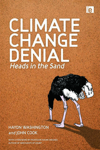 Climate Change Denial Heads in the Sand book cover