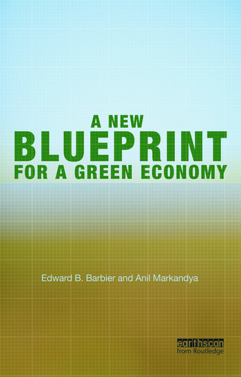 A New Blueprint for a Green Economy book cover