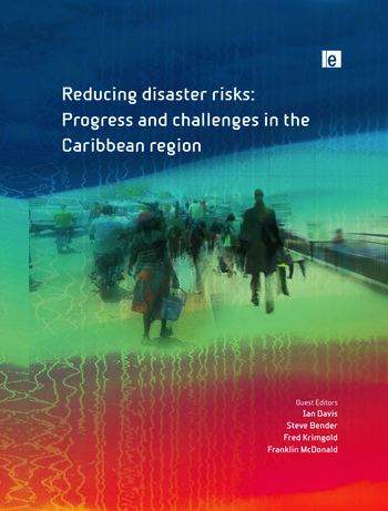 Reducing Disaster Risks Progress and Challenges in the Caribbean Region book cover