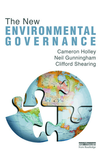 The New Environmental Governance book cover
