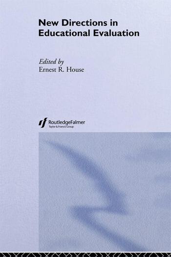 New Dir. In Education Evaluati book cover