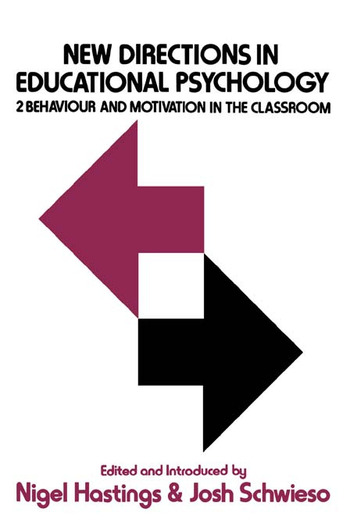 New Dir. In Education Psycholo book cover
