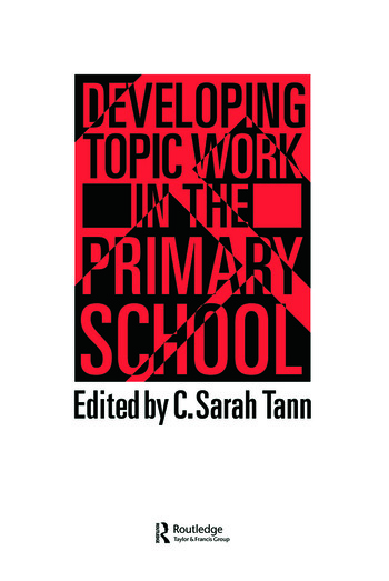 Topic Work In The Primary Scho book cover