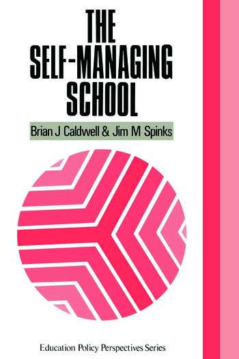 The Self-Managing School book cover