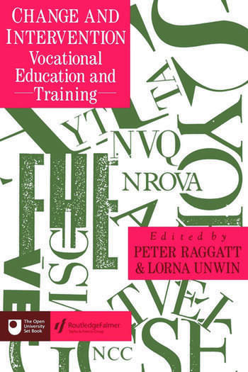 Change And Intervention Vocational Education And Training book cover