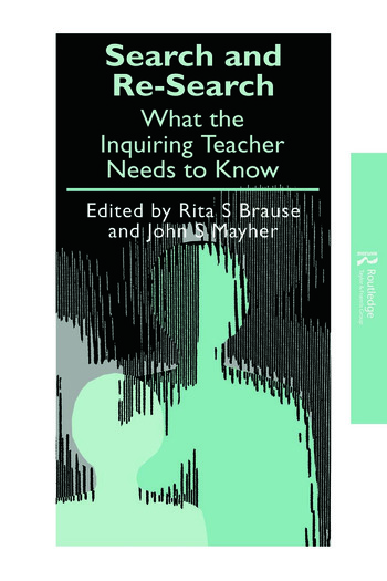 Search and re-search What the inquiring teacher needs to know book cover