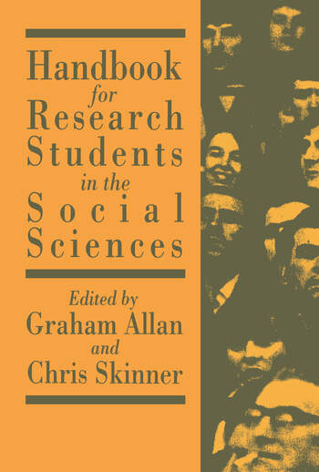 Handbook for Research Students in the Social Sciences book cover
