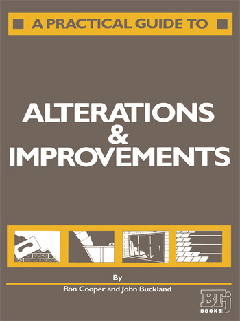 A Practical Guide to Alterations and Improvements book cover
