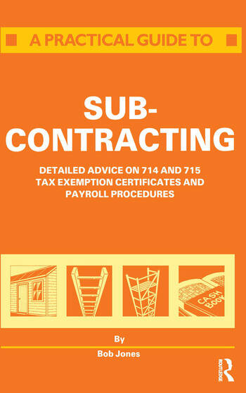 A Practical Guide to Subcontracting book cover