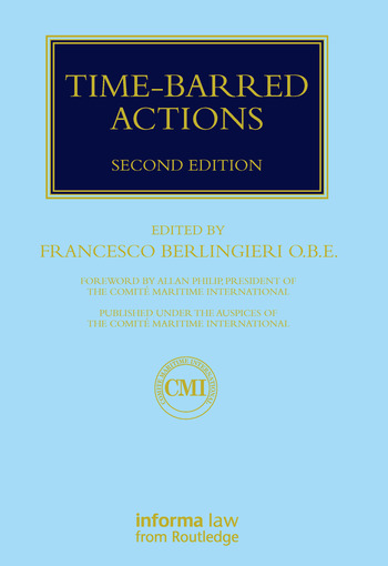 Time-barred Actions book cover