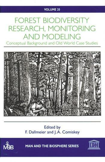 Forest Biodiversity Research, Monitoring and Modeling book cover