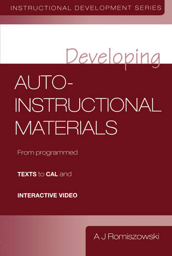 Developing Auto-instructional Materials book cover