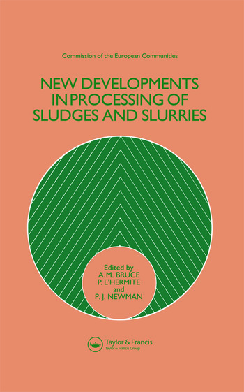 New Developments in Processing of Sludges and Slurries book cover