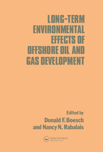 Long-term Environmental Effects of Offshore Oil and Gas Development book cover