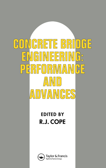 Concrete Bridge Engineering Performance and advances book cover