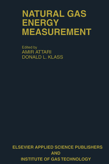 Natural Gas Energy Measurement book cover