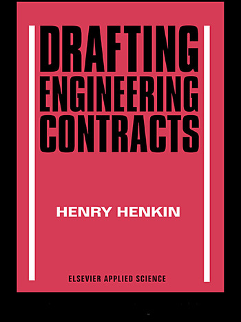 Drafting Engineering Contracts book cover