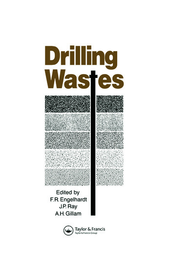 Drilling Wastes book cover