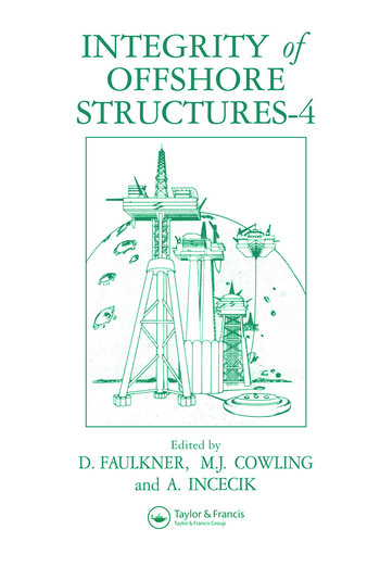 Integrity of Offshore Structures book cover