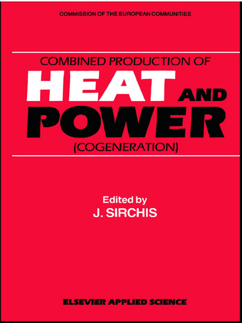 Combined Production of Heat and Power book cover