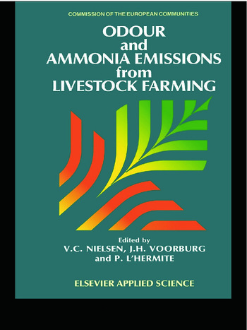 Odour and Ammonia Emissions from Livestock Farming book cover