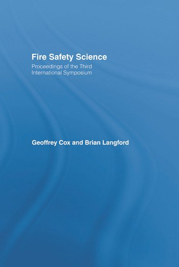 Fire Safety Science book cover