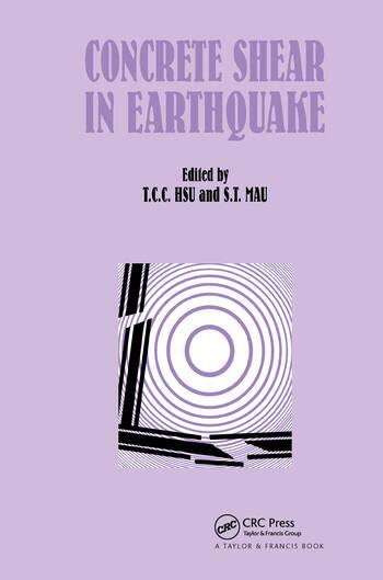 Concrete Shear in Earthquake book cover