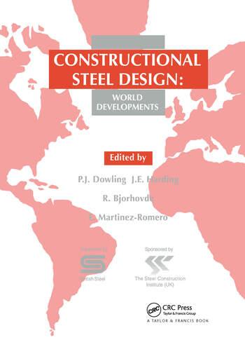 Constructional Steel Design World developments book cover