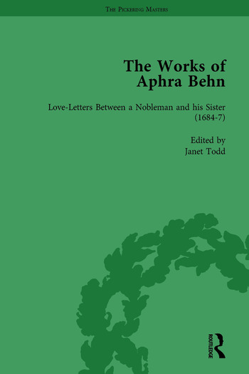 The Works of Aphra Behn: v. 2: Love Letters book cover