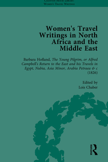 Women's Travel Writings in North Africa and the Middle East, Part I book cover