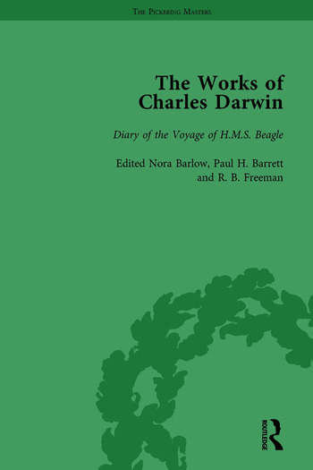The Works of Charles Darwin: v. 1: Introduction; Diary of the Voyage of HMS Beagle book cover