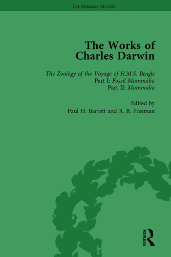 The Works of Charles Darwin: v. 4: Zoology of the Voyage of HMS Beagle, Under the Command of Captain Fitzroy, During the Years 1832-1836 (1838-1843) book cover