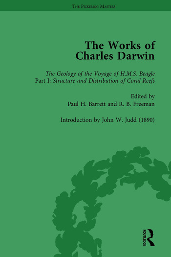 The Works of Charles Darwin: Vol 7: The Structure and Distribution of Coral Reefs book cover