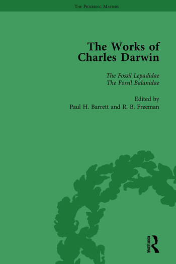 The Works of Charles Darwin: Vol 14: A Monograph on the Fossil Lepadidae (1851) book cover