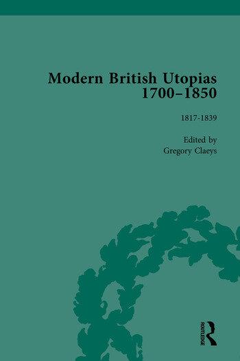 Modern British Utopias, 1700-1850 book cover