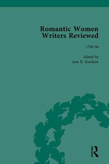Romantic Women Writers Reviewed, Part I book cover