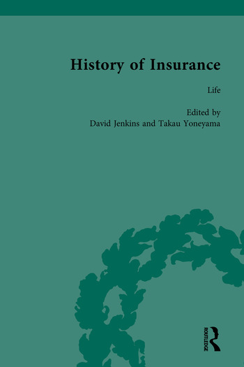 The History of Insurance book cover
