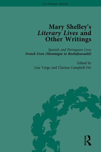Mary Shelley's Literary Lives and Other Writings book cover