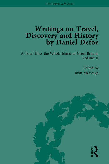 Writings on Travel, Discovery and History by Daniel Defoe, Part I book cover