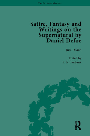 Satire, Fantasy and Writings on the Supernatural by Daniel Defoe, Part I book cover