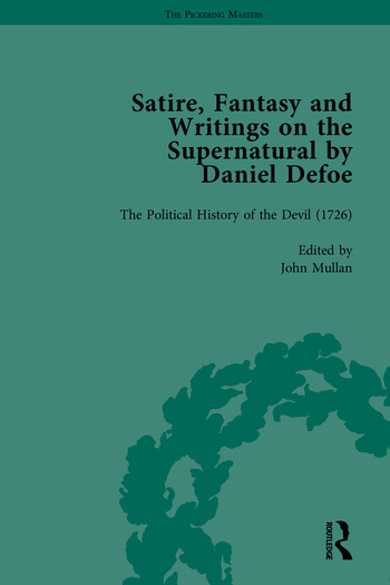 Satire, Fantasy and Writings on the Supernatural by Daniel Defoe, Part II book cover