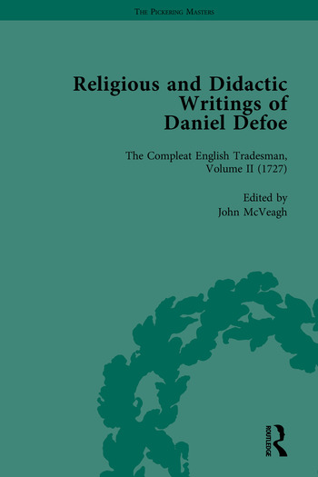 Religious and Didactic Writings of Daniel Defoe, Part II book cover