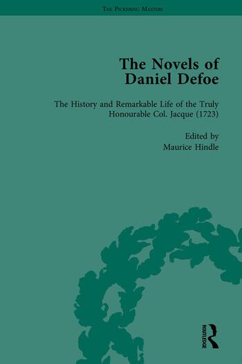The Novels of Daniel Defoe, Part II book cover