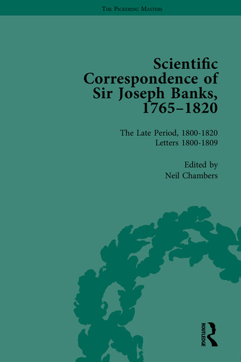 The Scientific Correspondence of Sir Joseph Banks, 1765-1820 book cover