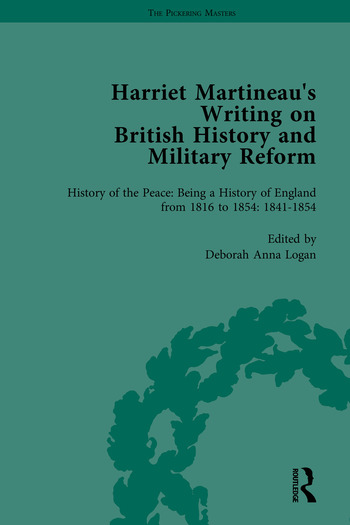 Harriet Martineau's Writing on British History and Military Reform book cover