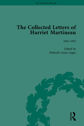The Collected Letters of Harriet Martineau book cover
