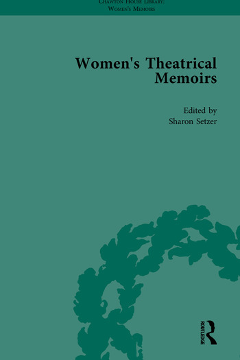 Women's Theatrical Memoirs, Part I book cover