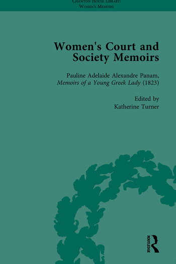 Women's Court and Society Memoirs, Part II book cover